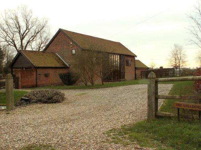 Barn conversion at Trust Farm