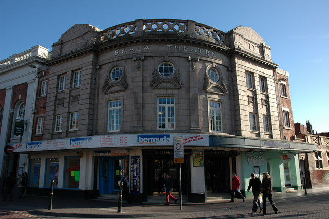 The former Scala Theatre, Worcester
