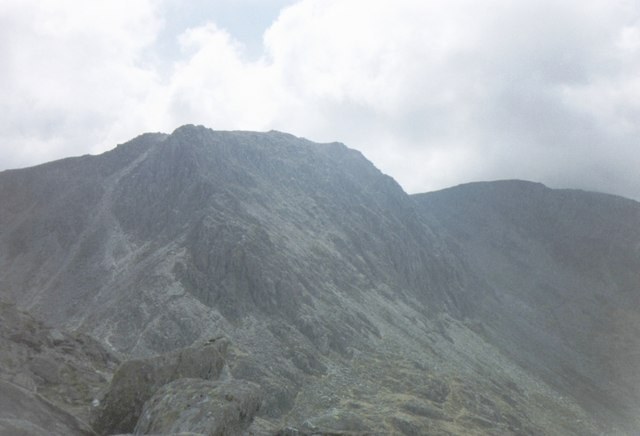 The Bristly Ridge from Tryfan