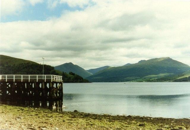 Pier at Inveraray, Loch Fyne