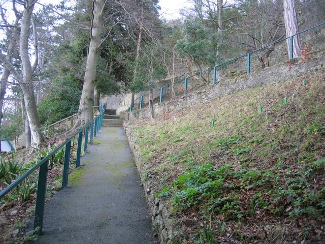 Haulfre Gardens Summit Trail