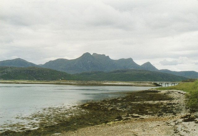 Kyle of Tongue with Ben Loyal on the horizon