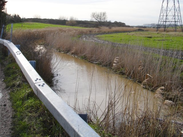 Drain by Seasalter Lane