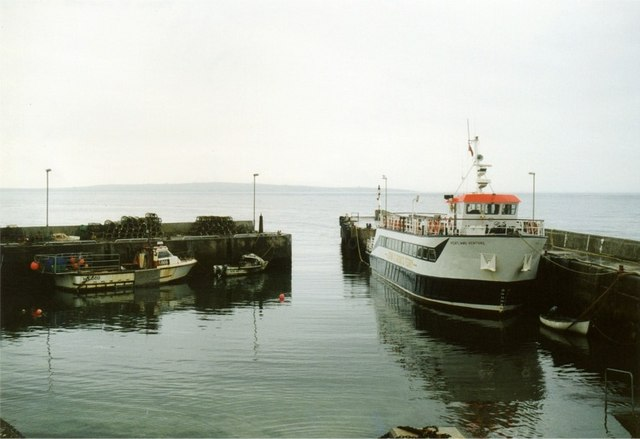 The harbour at John o' Groats