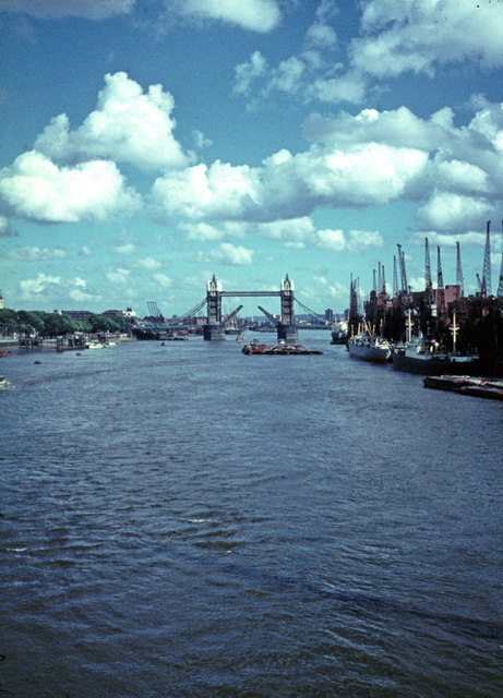 The Pool of London c1970