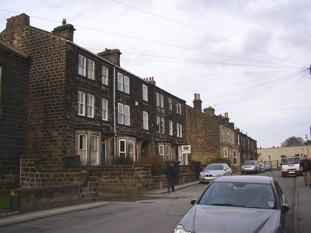 Terrace houses, Springfield Road, Guiseley