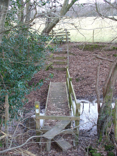 Footbridge North of Sedlescombe