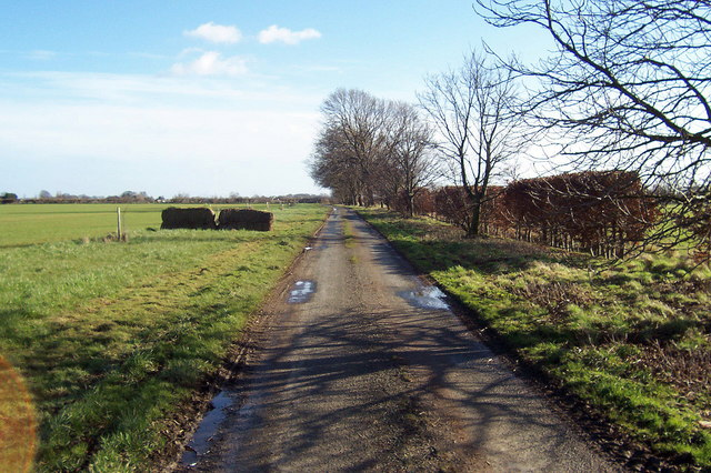 Access Lane from Highness Farm