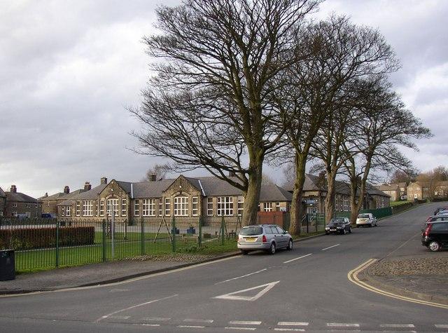 School, West Villa Road off Oxford Road, Guiseley