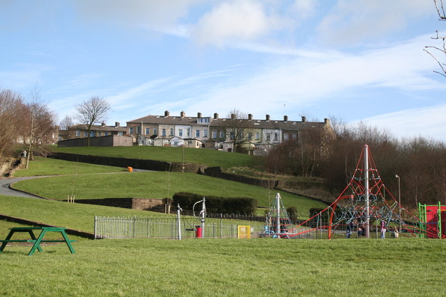 Children's Playground, Waterside, Colne