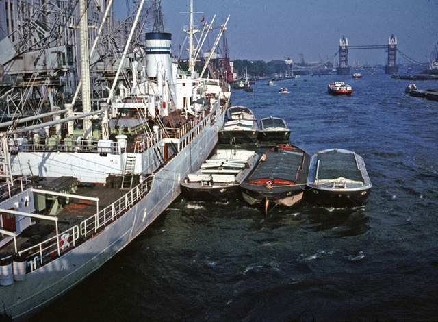 New Fresh Wharf c1960