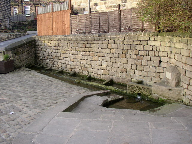 The well, Well Lane, Guiseley