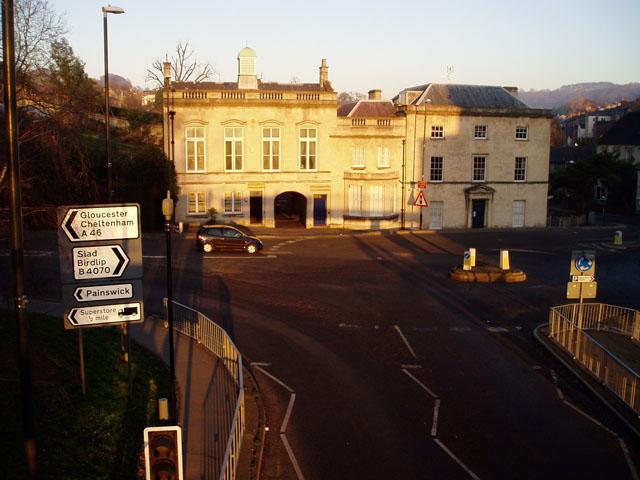 Old police station, Stroud