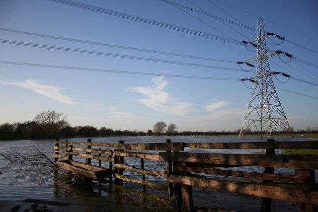 The Fleet in flood at Girton