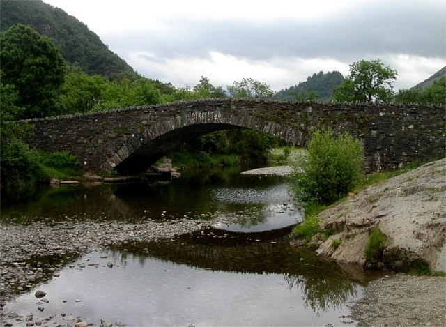 Bridge over the River Derwent at Grange