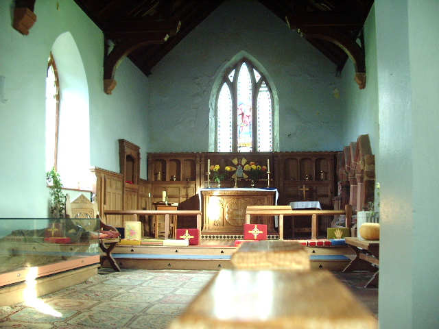 Interior of St Luke's Church, Townhead