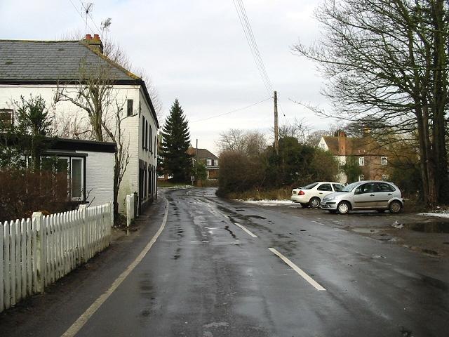 Looking N along Nargate Street, Littlebourne