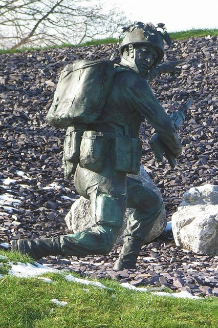 The Infantry Statue