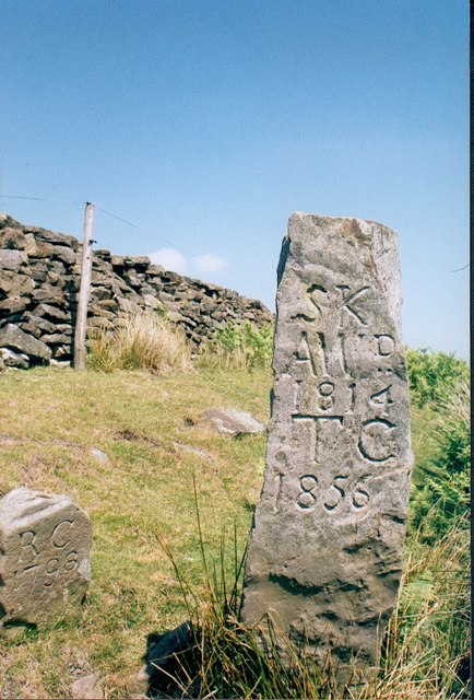 Boundary Stones, nr Hob Cross