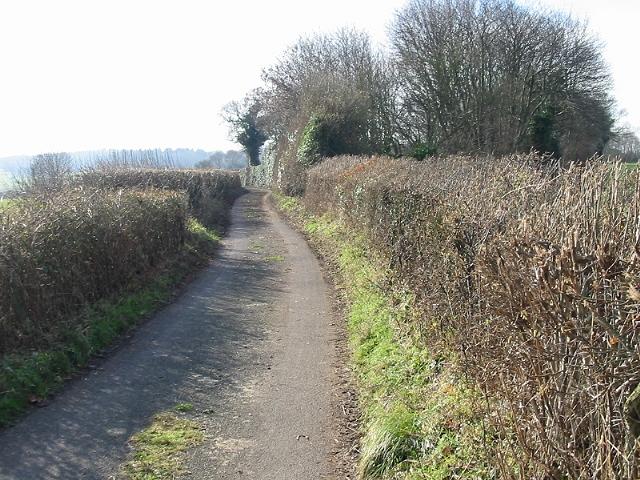 Looking S along School Lane