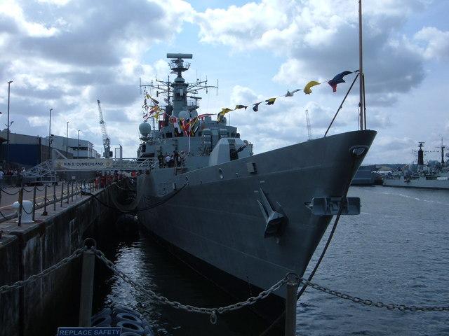 Devonport - HMS Cumberland