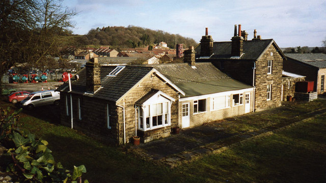 Kirkbymoorside (Kirby Moorside) Station from Ings Lane