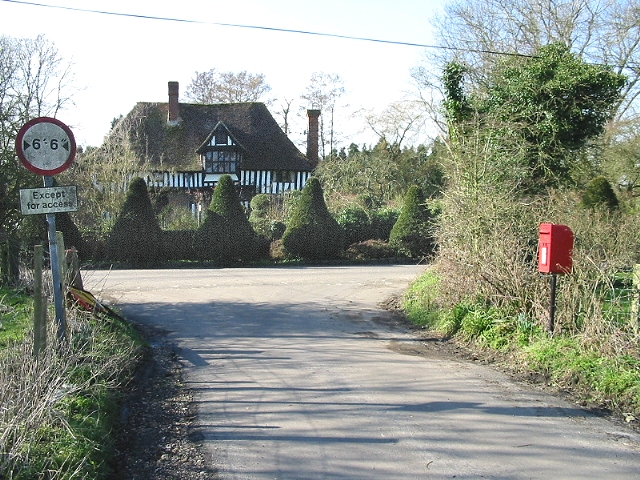 Kite Manor on Southenay Lane from Church Lane