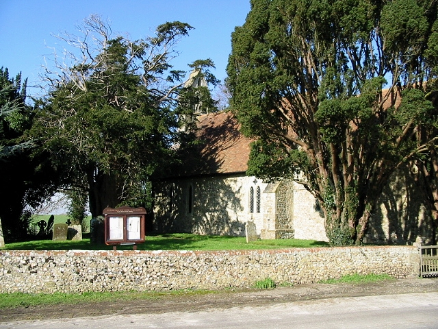 The Parish church of St Peter, Monks Horton