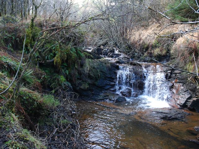 Waterfall on Allt nan Nathair