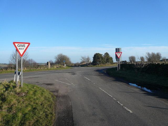 Jaggers Lane Junction with Wirestone Lane