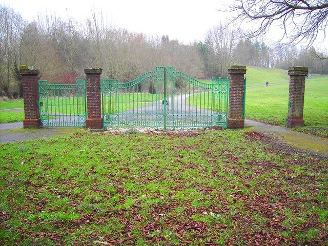 Gateway to Coate Water, Swindon