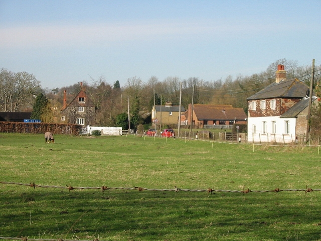 The old school and Parsonage Farm