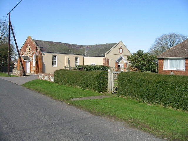Stelling Minnis chapel now the village hall