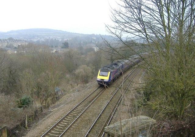 Bristol to London train