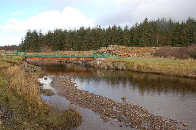 Bridge over the Abhainn Ceann-locha