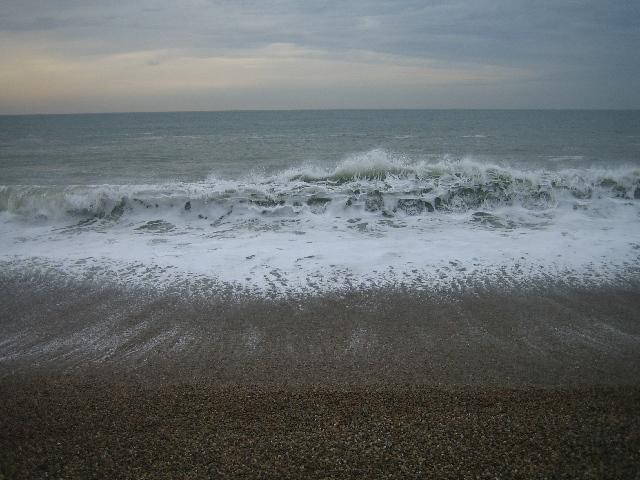 Chesil Beach wave