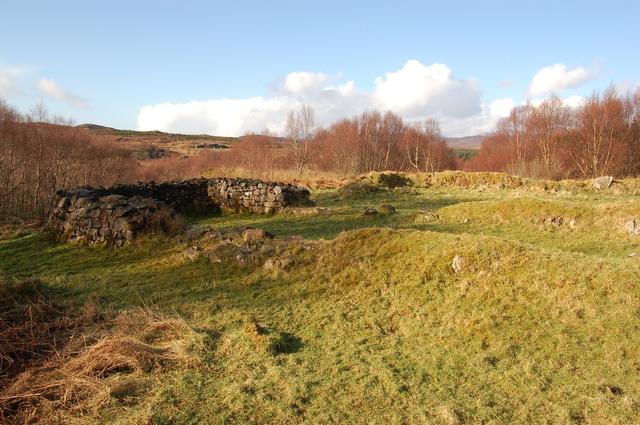Ruin in Kinloch Forest