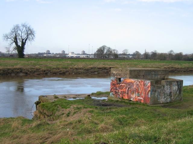Pillbox on Saltney Quay