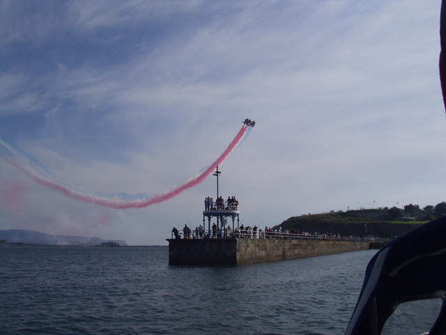 Red Arrows over Weymouth