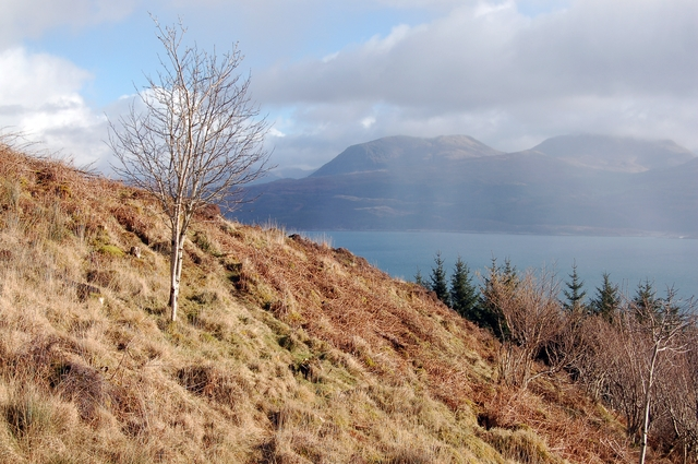 The drove road to Kylerhea
