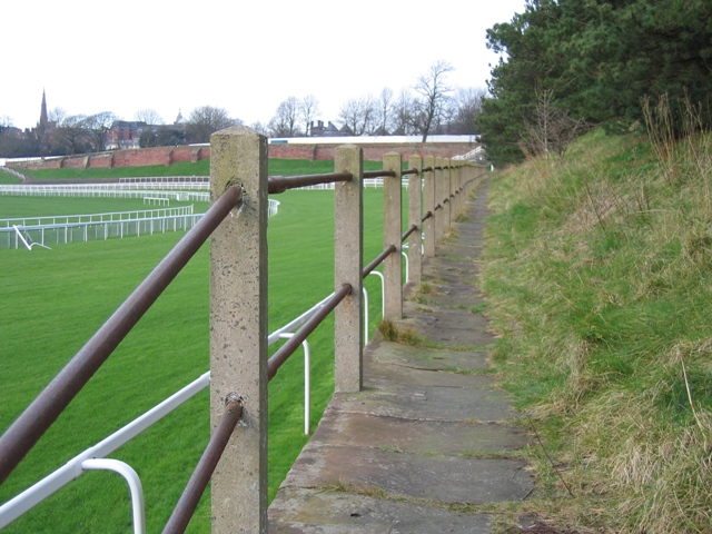 Walkway by the Racecourse