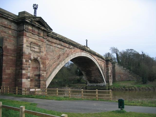 The Grosvenor Bridge, Chester