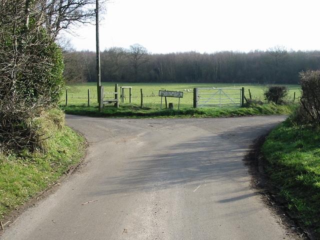 Junction of Church Lane and School Lane