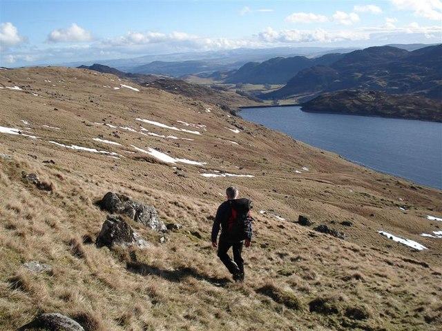 Loch Lednock Reservoir