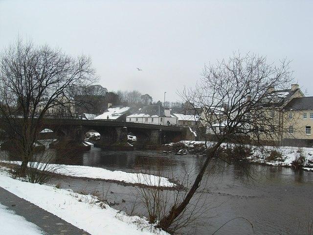 The bridge, Brecon