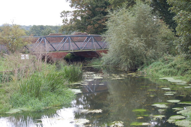 A28 road bridge over Great Stour