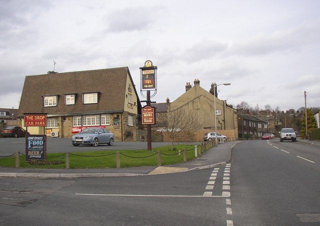The Drop (Inn) and Town Street, Guiseley