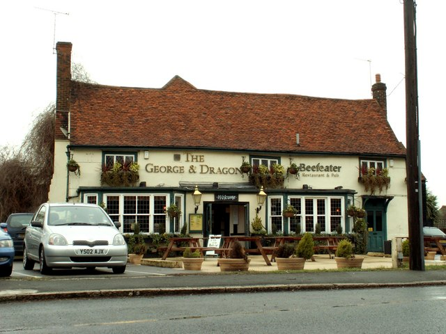 'The George & Dragon' inn