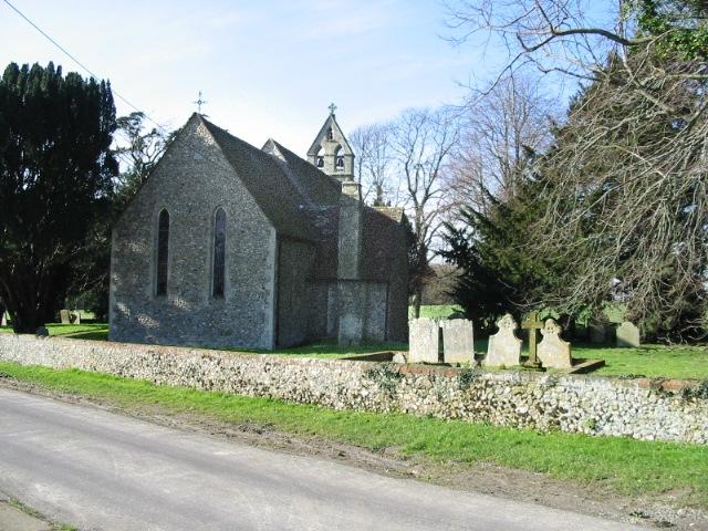 The Church of St Peter, Monks Horton