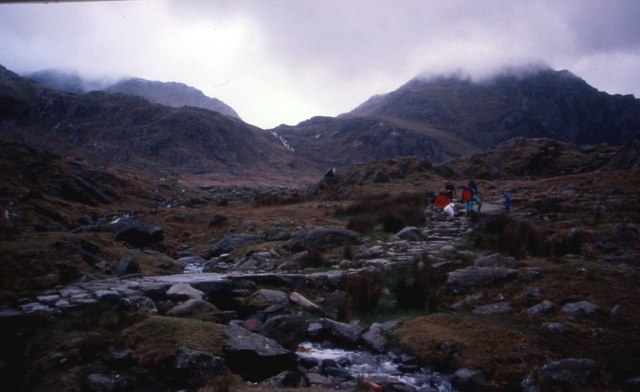 The path to Cwm Idwal